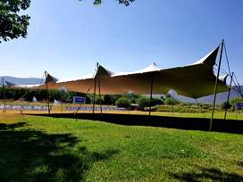 10x15m(150sqm) Stretch Tent for Hire R7140