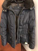 Zara, kurtka zimowa z wysokim kołnierzem oraz kapturem, rozm S