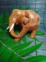 Слон из кокос пальмы Sri Lanka сувенир декор дома интерьера Подарок