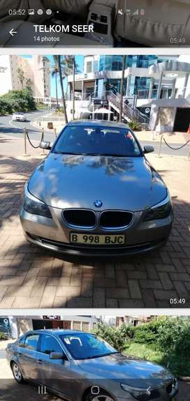 BMW 520i  /2008 model/ Bronze Gold Color /Milage 12700 call