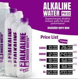 Alkaline Ionized Water PH10