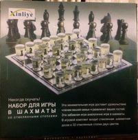 Набор для игры в шахматы стопками