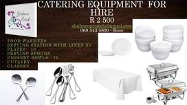 Catering Equipment for Hire