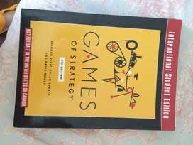 UCT textbook GAMES OF STRATEGY Dixit, Skeath & Reiley 4th ed.