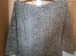 Sukienka czarno biała 40 L