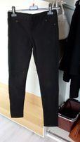 Spodnie rurki legginsy getry 36