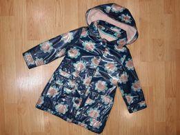 Куртка на флисе 2-3 года Ветровка дождевик дощовик курточка