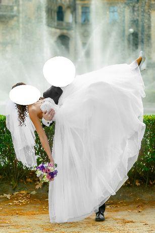 Suknia ślubna Justin Alexander 8724 rozm. 34 Strzelce Opolskie - image 4