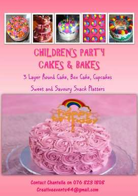 Children Party Cakes and Bakes