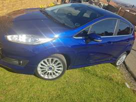 Beautiful blue Ford Fiesta for sale, 2016 titanium edition