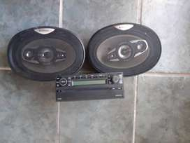 Mp3  player and speakers for sale