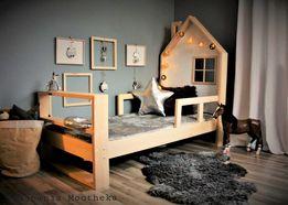 Łóżeczko domek drewniany Nature House
