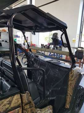 Fully Accessorized Hunting Game viewing 2021 Linhai T-Boss 550 4x4 EFI