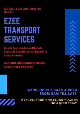 Goods Transport and waste removal