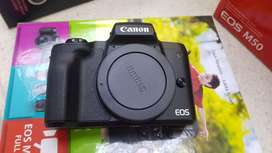 Canon EOS M50 + Lens + Rode Mic (BRAND NEW) R13000