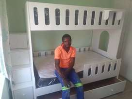 We manufacture quality kids bunk beds