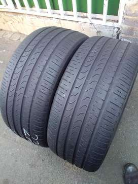 2 quality used tyres for sale 275/35/R22 Pirelli Scorpion Verde normal