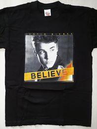 Koszulka Justin Bieber - czarna różne rozmiary