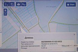Терміново!!! Земельна ділянка під забудову с.Лугове 12 км від міста