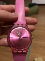 Zegarek swatch różowy