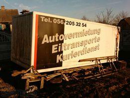 Будка алюминиевая на грузовик