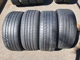 245 45 R19 Continental ContiSportContact Tyres