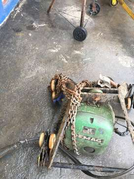 1-Tonne Demag Electronic Winch - R15,000