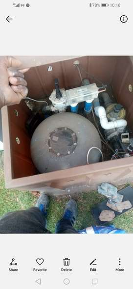 Pool pump and pool warmer for sale