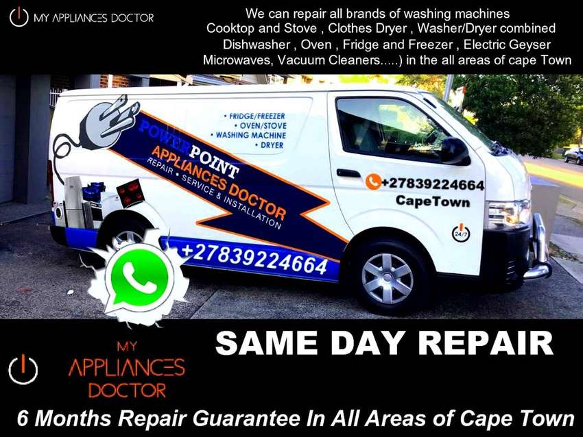 Mr 24/7 Same Day Appliance Repair, 6Months Guarantee All areas of Cape 0