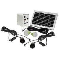 Image of SOLAR PANEL LIGHT KIT 2 LIGHTS
