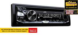 JVC KD-R473M Mp3 Cd Receiver with USB  MOS-FET 50W x 4 Sub Woofer Dire