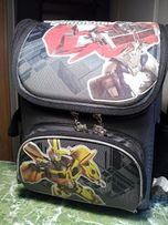 Рюкзак школьный каркасный KITE Transformers