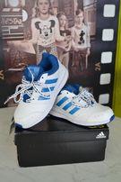 Adidas кожаные кроссовки оригинал 17. 5 см