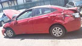 Hyundai Sedan Accent Stripping For Parts