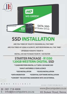 SSD Installation and Migration
