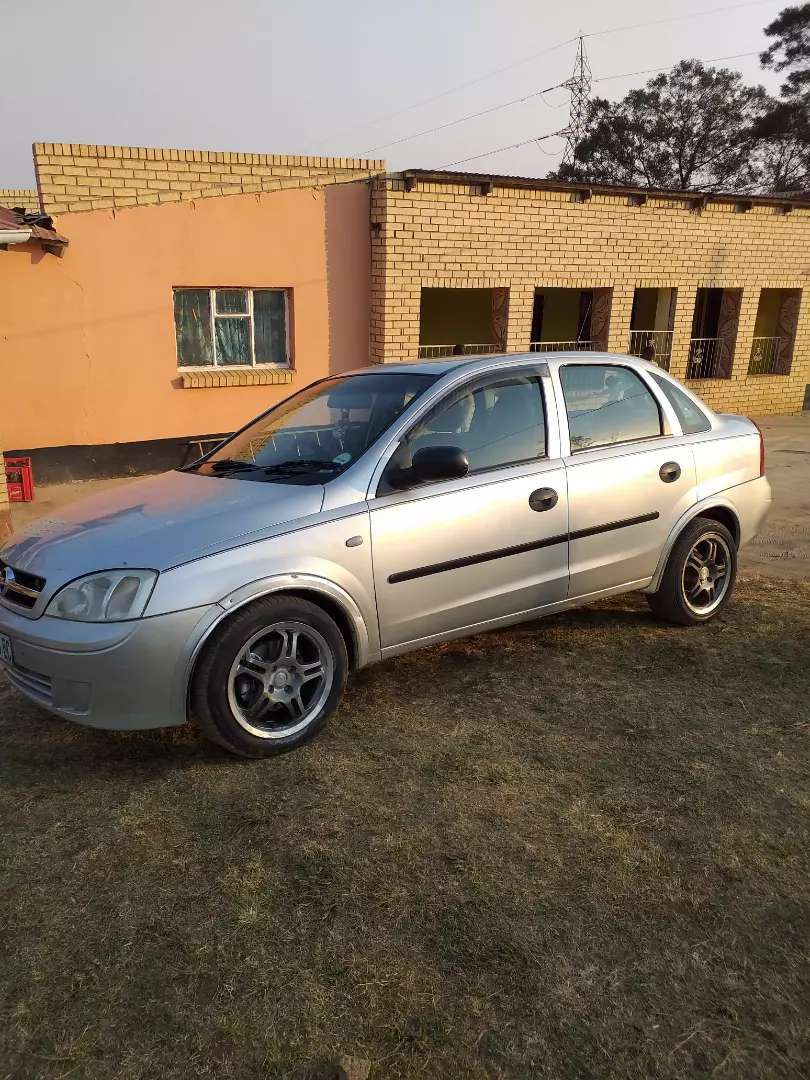 Selling my opel corsa at R45 000 Negotiable 0