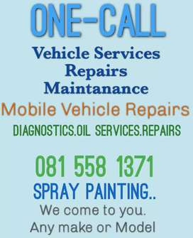 Mobile Vehicle Services.Repairs.Maintanance