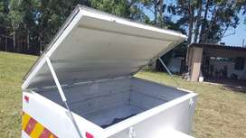 Camping trailer 1.8 m x 1.1 m x 700 mm deep.eep.