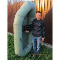 Надувная резиновая лодка Лисичанка заводская. Доставка бесплатно