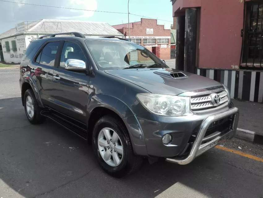 2012 Toyota Fortuner D4D A/T 0