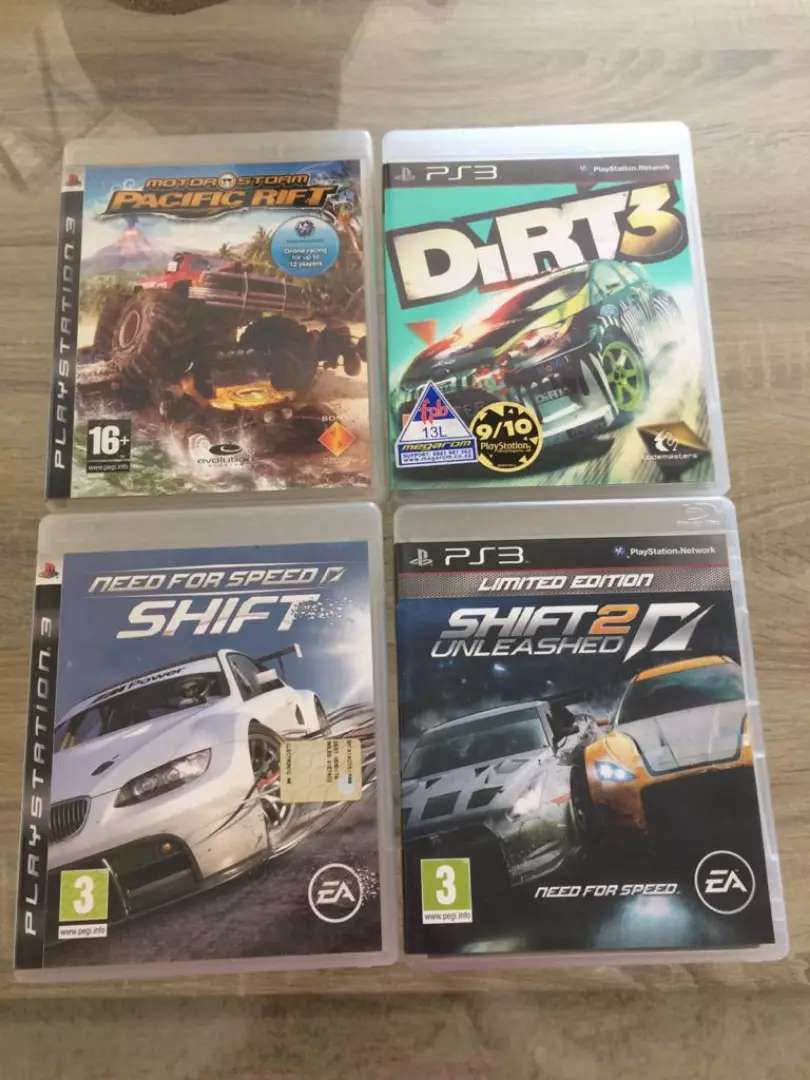 PS 3 GAMES AS NEW FOR SALE