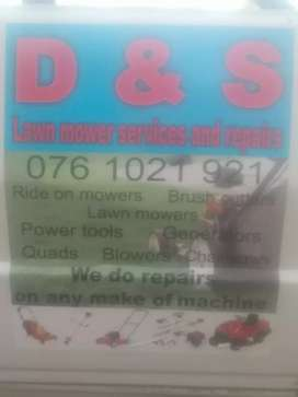 D&S LAWEN MOWER SERVICES AND REPIARS