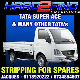 TATA SUPER ACE 1.4LT TURBO DIESEL 2013 STRIPPING FOR SPARES