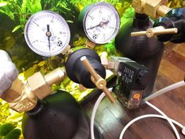 CAMOZZI Со2 система аквариумная баллонная балон камоци камози