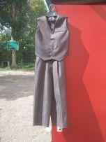 Костюм на праздник, штаны и жилетка 1-1.5 года