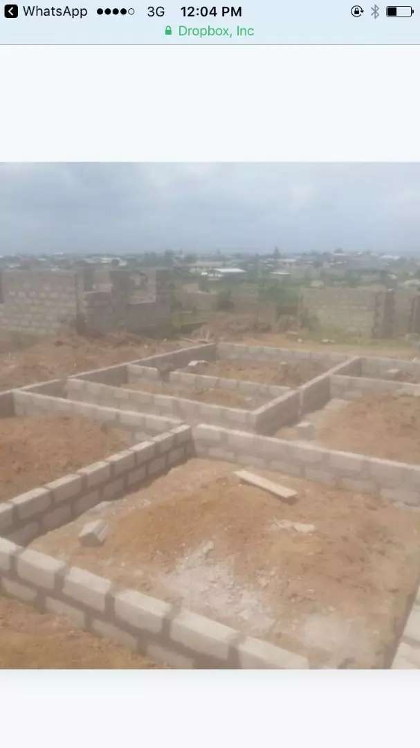 1 Plot Land with foundation 4Sale in Accra 0
