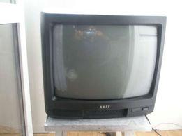 Цветной малогабаритный телевизор АКАЙ (AKAI), маленький, возм. ОБМЕН