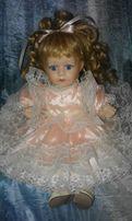 Кукла фарфоровая коллекционная Leonardo Collection