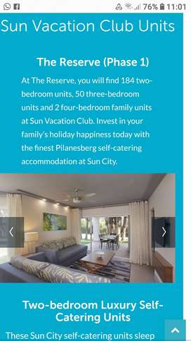 Sun city Vacation club
