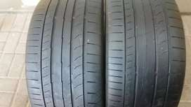 Two seconds hand tyres sizes 255/35/18 continental normal now availab